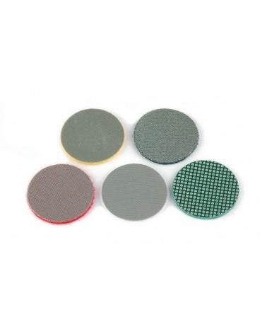 Diamantschuurschijf 50 mm met klit