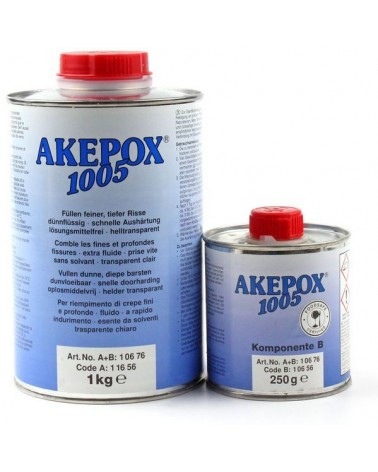Akepox 1005, dunvloeibaar 2-componenten vulmiddel