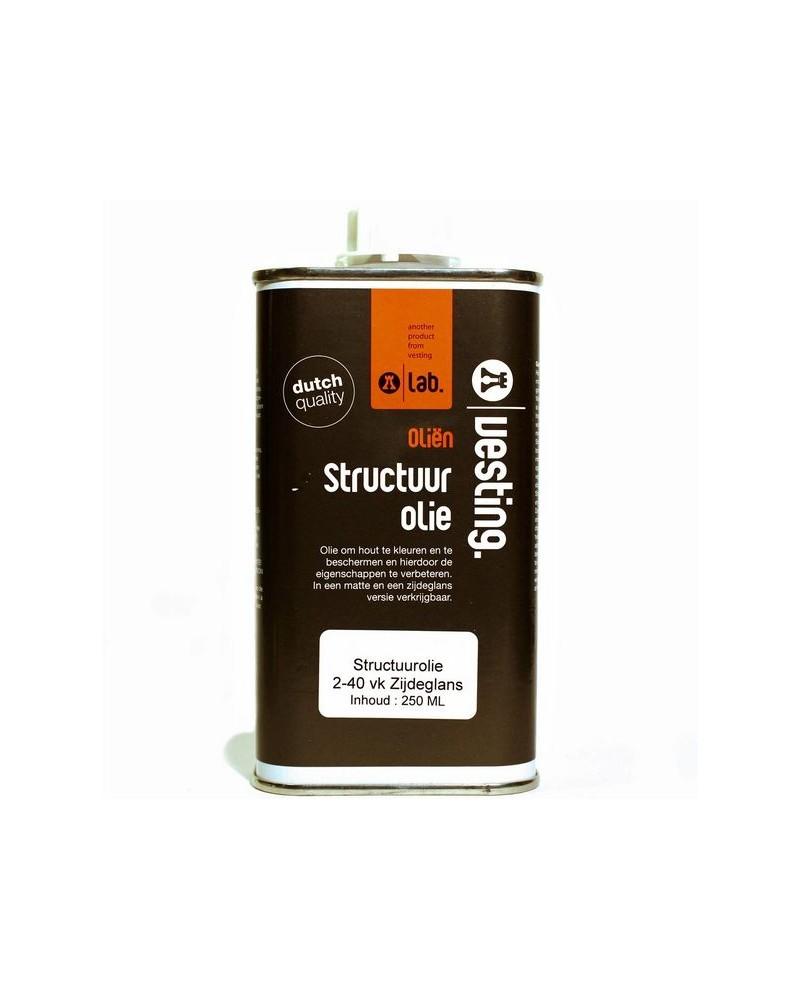 Structuurolie 2-40 VK zijdeglans 250 ml