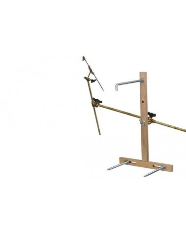 Punteerapparaat met houten kruis B*