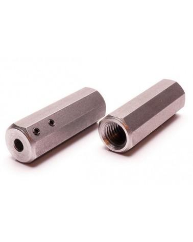 Adapter van M14 naar 6 mm schacht