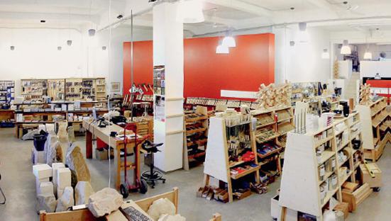 Interieur winkel Bildhau in Keulen (Duitsland)
